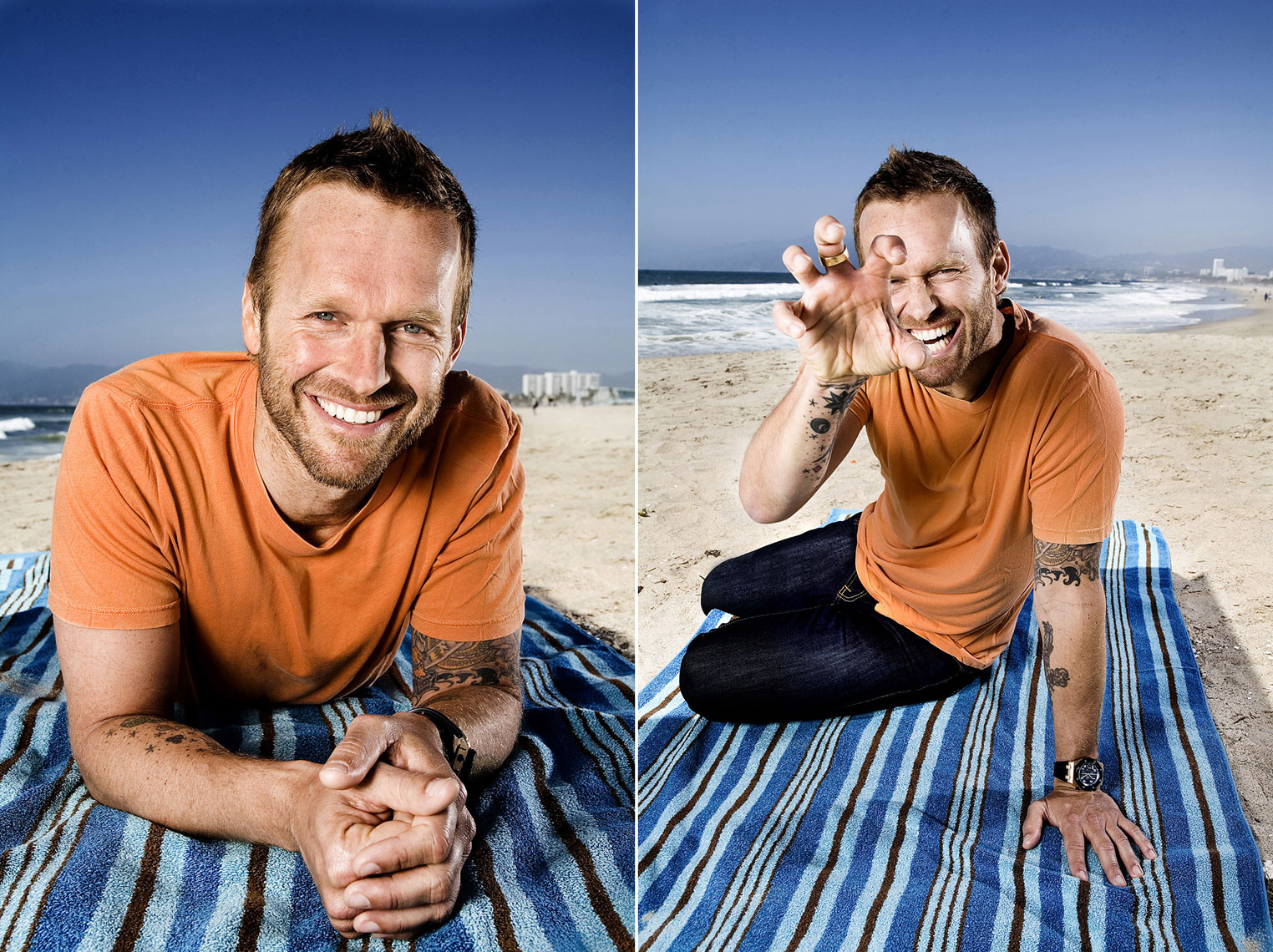 MANUELLO PAGANELLI  Photographer  / PORTRAITS, EDITORIAL, CELEBRITIES / SPORTS , TRAVEL, ADVENTURE / LIFESTYLE, FASHION /MAGAZINE, WORKSHOPS - HOLLYWOOD, SAN FRANCISCO, LOS ANGELES California - PORTRAIT - Bob Harper, The Biggest Loser
