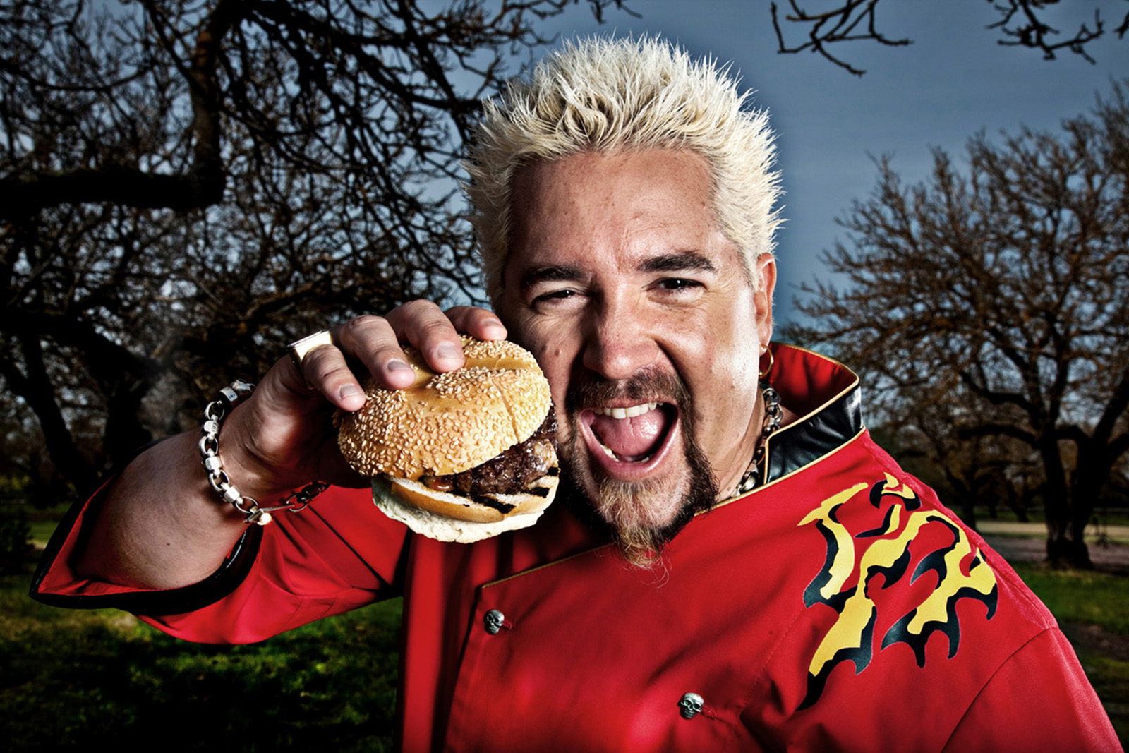 MANUELLO PAGANELLI  Photographer  / PORTRAITS, EDITORIAL, CELEBRITIES / SPORTS , TRAVEL, ADVENTURE / LIFESTYLE, FASHION /MAGAZINE, WORKSHOPS - HOLLYWOOD, SAN FRANCISCO, LOS ANGELES California - PORTRAIT -TV Top Chef Guy Fieri