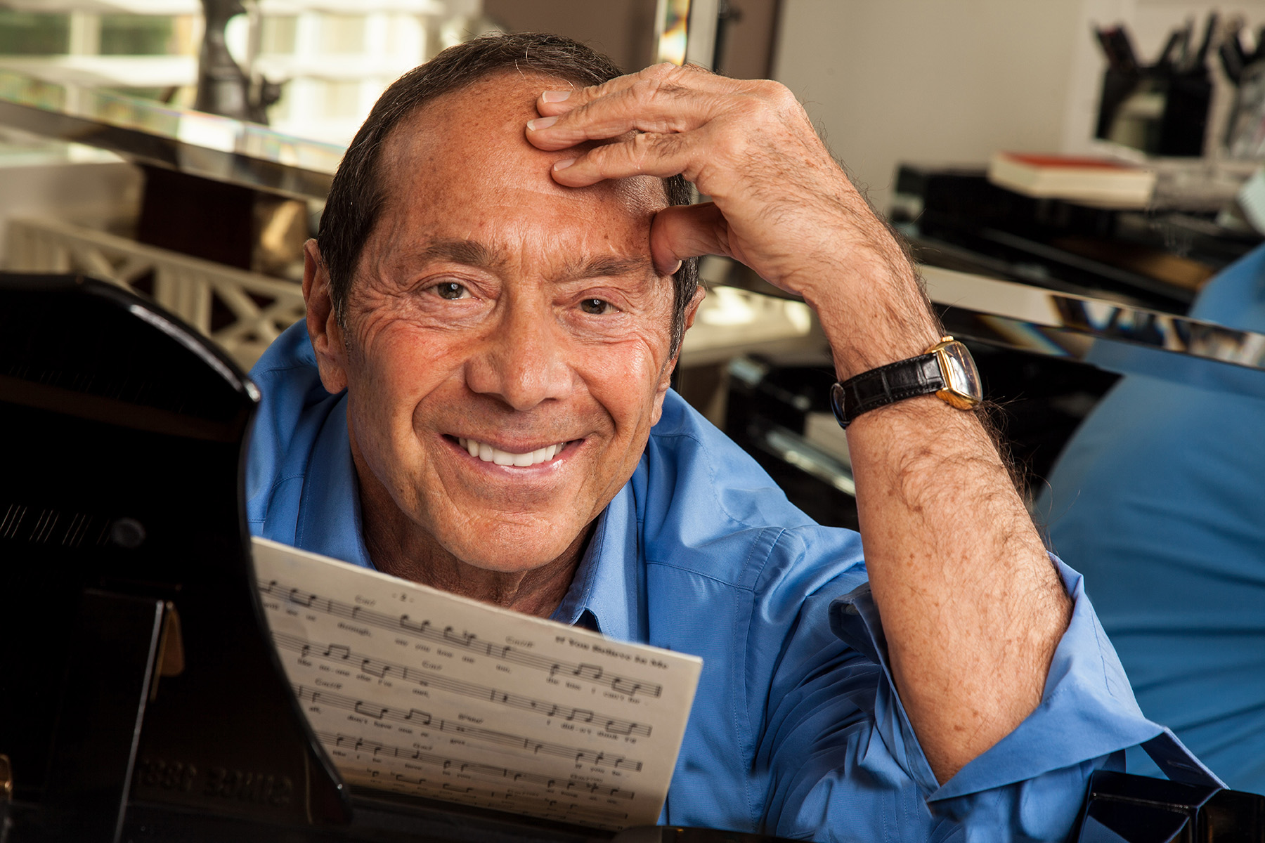 MANUELLO PAGANELLI  Photographer  / PORTRAITS, EDITORIAL, CELEBRITIES / SPORTS , TRAVEL, ADVENTURE / LIFESTYLE, FASHION /MAGAZINE, WORKSHOPS - HOLLYWOOD, SAN FRANCISCO, LOS ANGELES California - PORTRAIT -Paul_Anka_singer_crooner