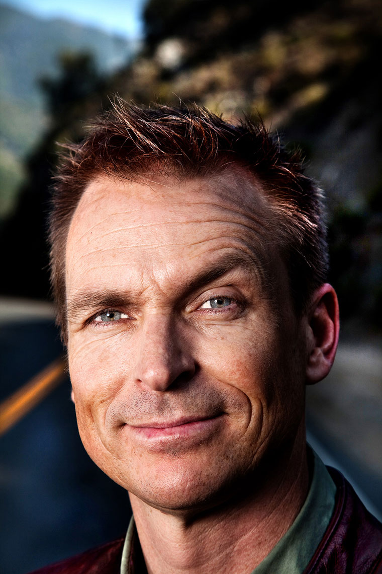 MANUELLO PAGANELLI  Photographer  / PORTRAIT, EDITORIAL, TRAVEL  /  ADVENTURE, LIFESTYLE, MAGAZINE - HOLLYWOOD, SAN FRANCISCO, LOS ANGELES California - PORTRAIT - Phil Keoghan, The Amazing Race